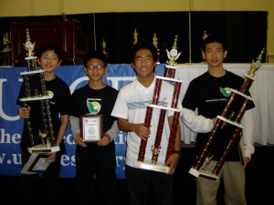 Washington Middle School Chess Team - 3rd in the Nation!