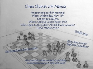 UH Chess Club