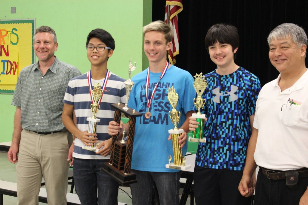 2017 Hawaii Scholastic High School Chess Champions